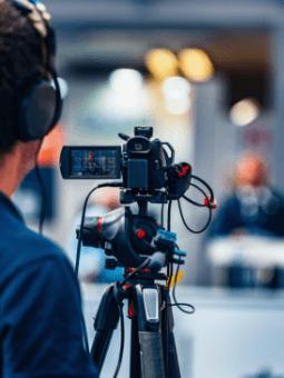 audio and visual camera